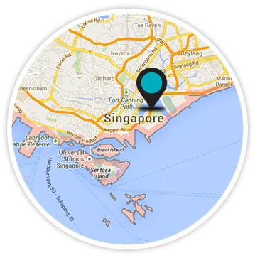 map office Singapor
